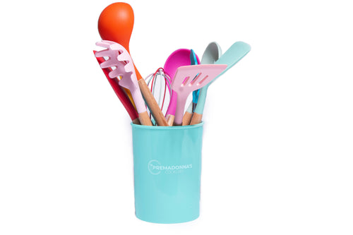 11pcs eco friendly Silicone Cooking Utensils Set