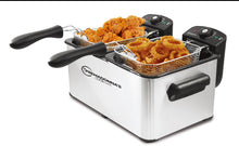 *Ultra XL Non-Contamination Double Deep Fryer
