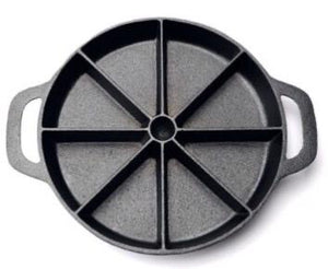 **100% perfect slice Cast Iron dish ! Cornbread pan