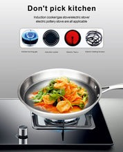 **SCRATCH RESISTANT NON STICK Stainless Steel Pot