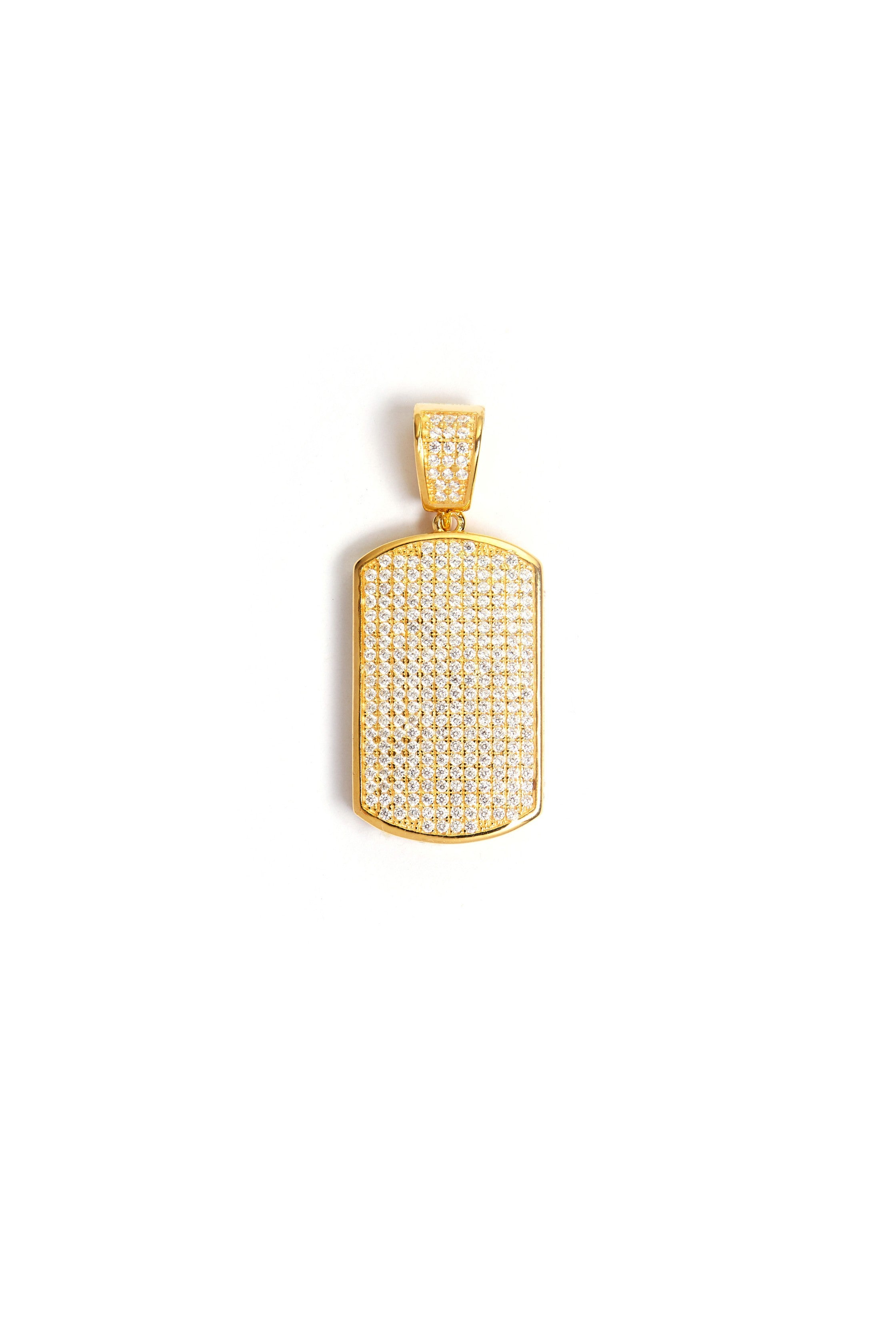 TAG GOLD PENDANT