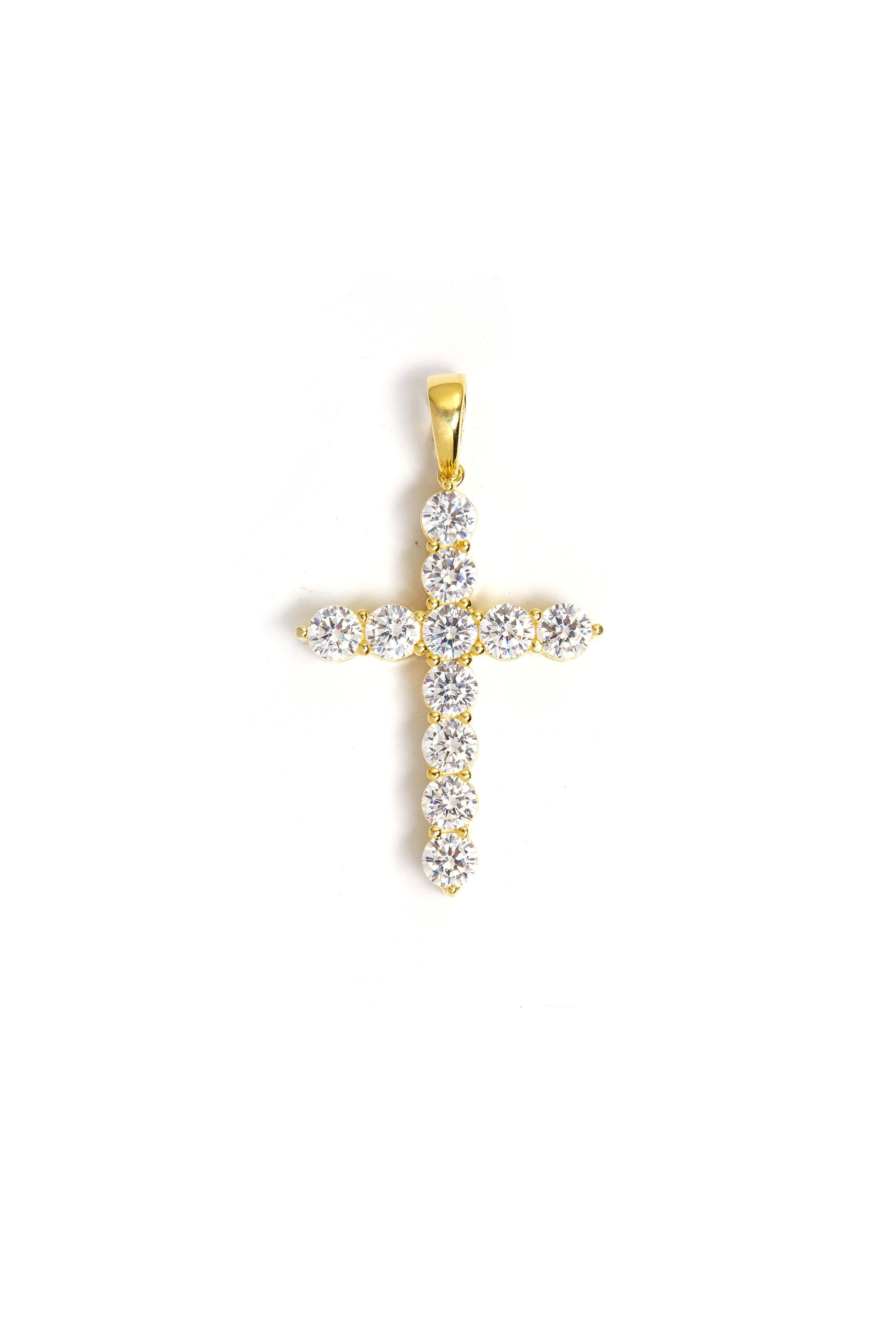 CROSS GOLD PENDANT