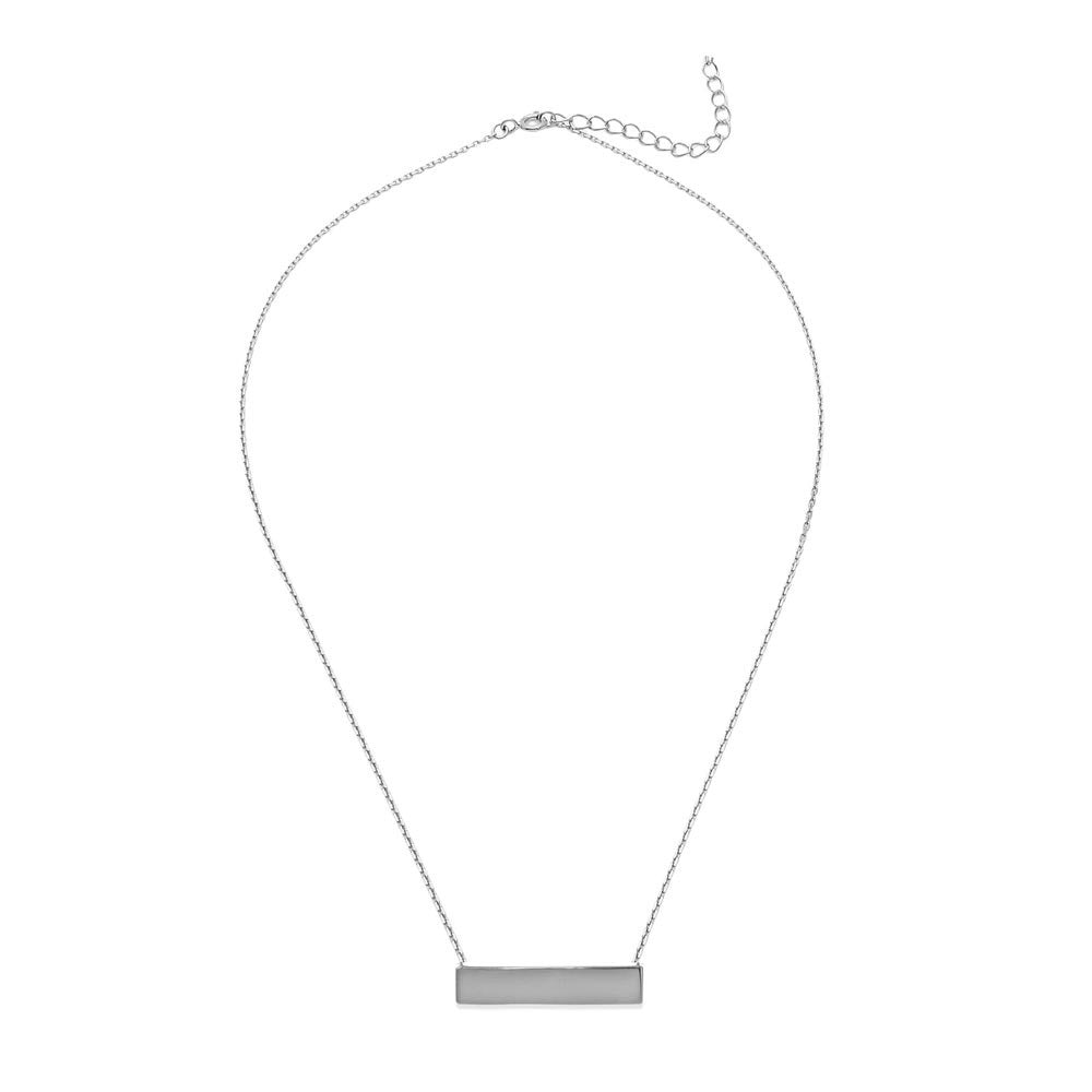 ID PENDANT SILVER NECKLACE