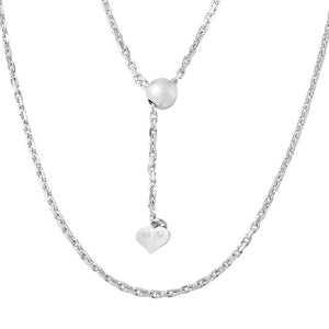 DIAMOND CUT CHAIN NECKLACE
