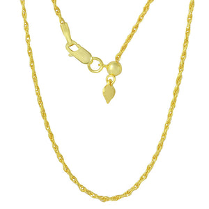 ROPE GOLD CHAIN NECKLACE