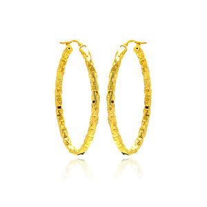 PHOEBE GOLD HOOPS