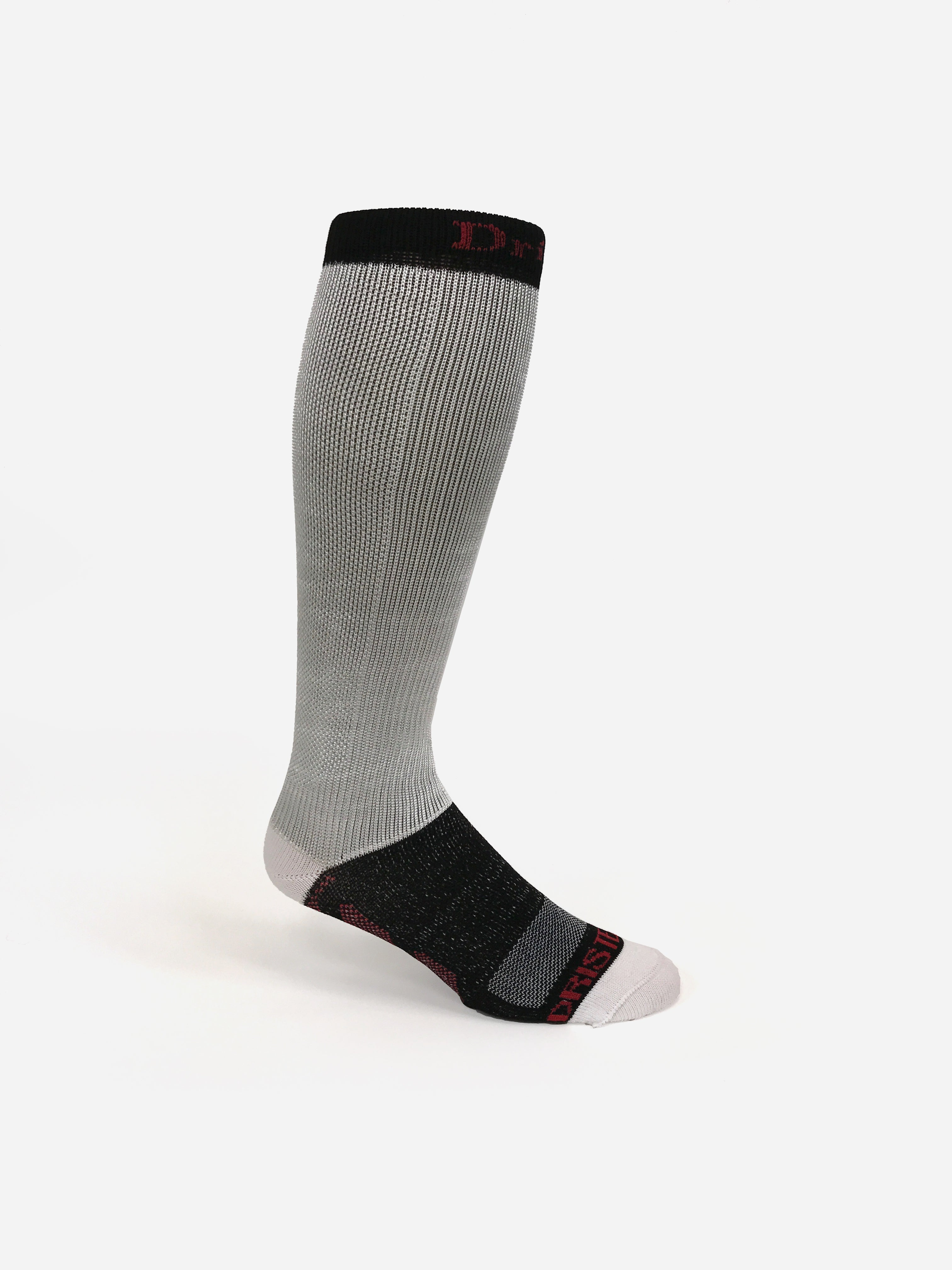 2PK Dristex Cut Resistant Compression Pro Hockey Sock. Dristex Cut Resistant hockey skate socks are designed specifically for hockey players that demand the best. The socks provide cut-resistant protection and the confidence to compete hard knowing they have that extra level of protection. HKYSOX cut-resistant hockey skate socks.