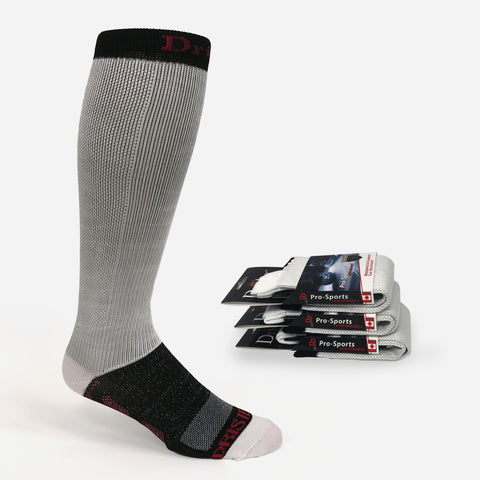 3PK Dristex Cut Resistant Compression Pro Hockey Sock. Dristex Cut Resistant hockey skate socks are designed specifically for hockey players that demand the best. The socks provide cut-resistant protection and the confidence to compete hard knowing they have that extra level of protection.
