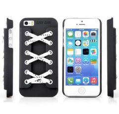 LACE CASE, hockey lace phone case for iPhone. Designed for the iPhone 7/6/6S/5/5S/5SE