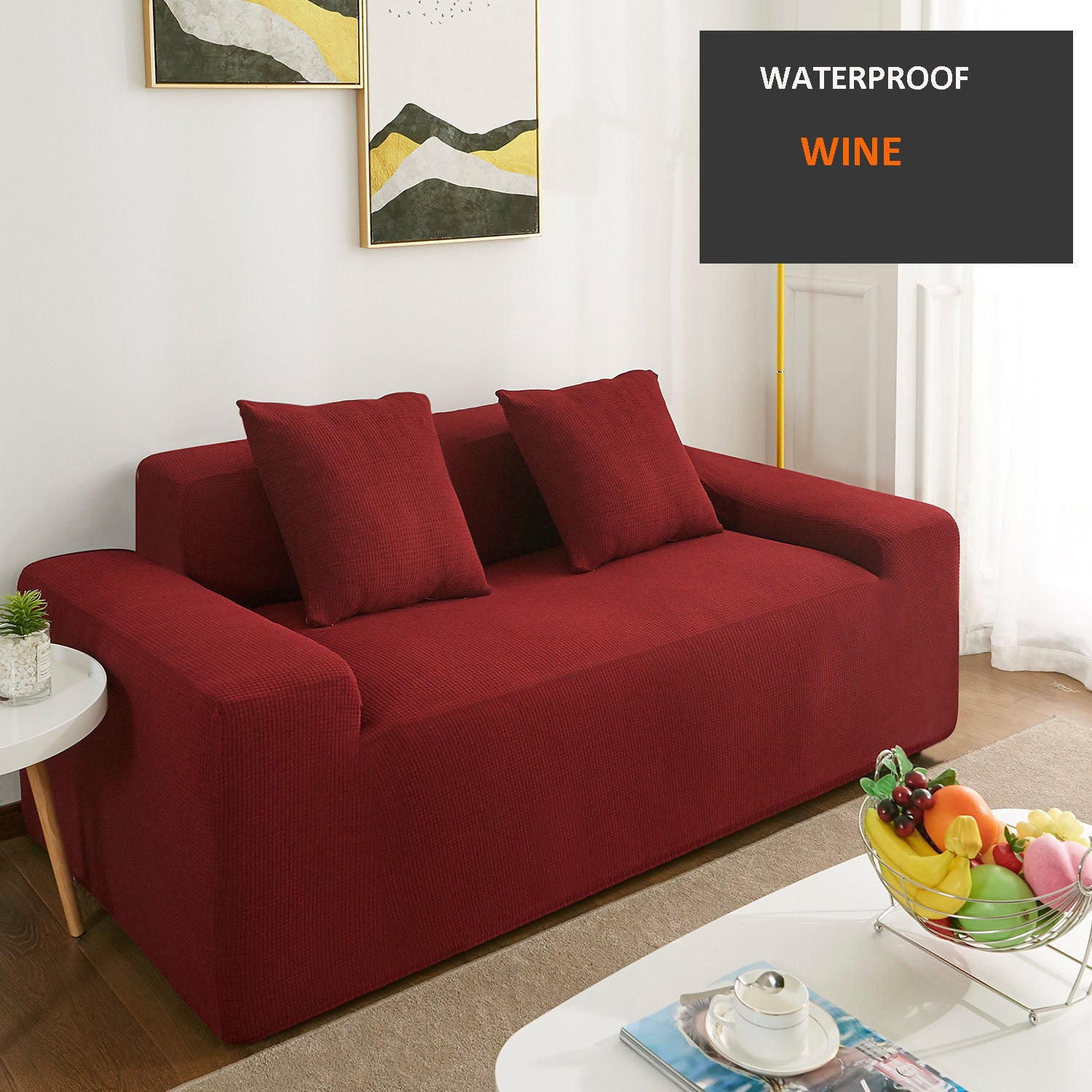 Incredible High Quality Waterproof Sofa Cover Bralicious Painted Fabric Chair Ideas Braliciousco
