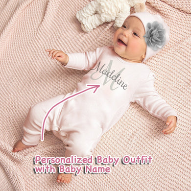 Personalized Baby Girl Clothes III-02