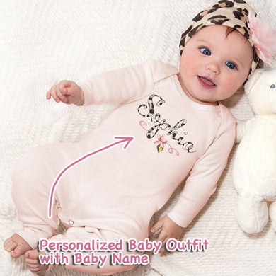 Personalized Baby Girl Clothes III-04