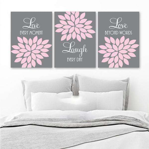 Live Laugh Love Canvas Art Set 05