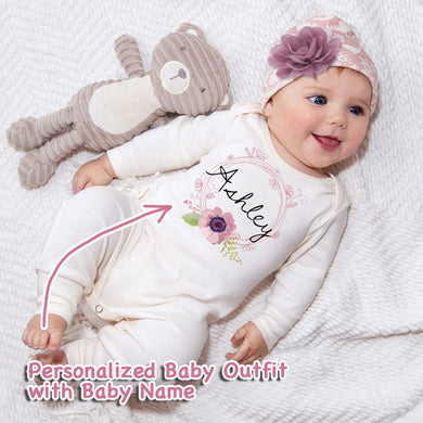 Personalized Baby Girl Clothes III-03