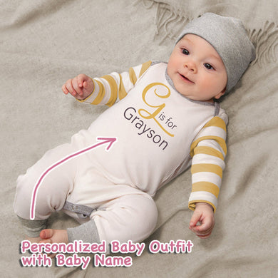 Personalized Baby Boy Clothes III-08
