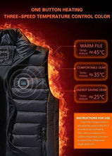 Load image into Gallery viewer, Warm You Up 2020 Upgrade Unisex Heated Vest
