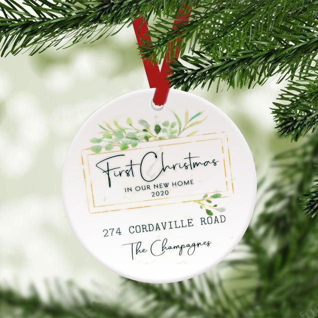 Personalized 2020 Christmas Ornament 09 (huantu)