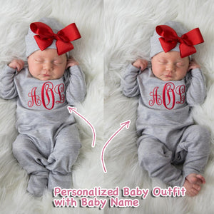 Personalized Baby Girl Clothes II-06