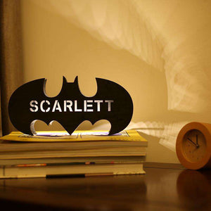 Personalized Wooden Bat Night Lamp With Name 01