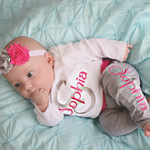 Baby Girl Gift Personalized Clothes