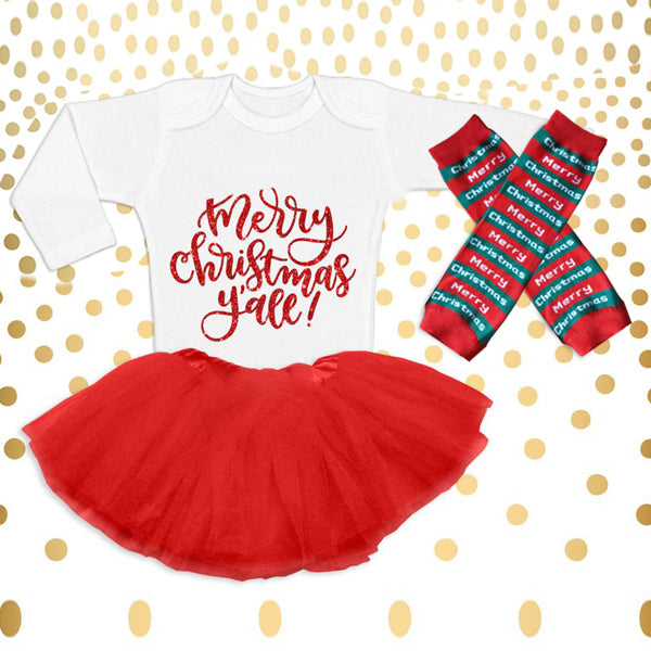 Christmas Baby Outfit 01-Y'all