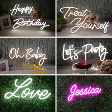 Load image into Gallery viewer, S-12'' Custom Neon Sign Led