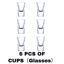 Load image into Gallery viewer, 6 Shot Glass Dispenser and Holder