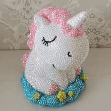 Load image into Gallery viewer, DIY Diamond Unicorn Piggy Bank