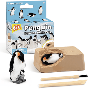 Digging up fossils toy Penguin DIY 03