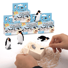 Load image into Gallery viewer, Digging up fossils toy Penguin DIY 03