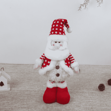 Load image into Gallery viewer, Assorted Poly-Cotton Plush Standing Funny Snowman 03