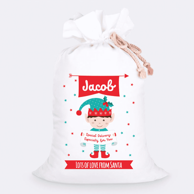 Custom Jumbo Santa Sacks With Name 10