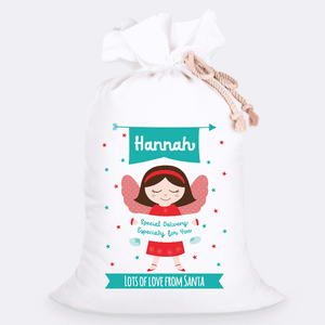 Custom Jumbo Santa Sacks With Name 11