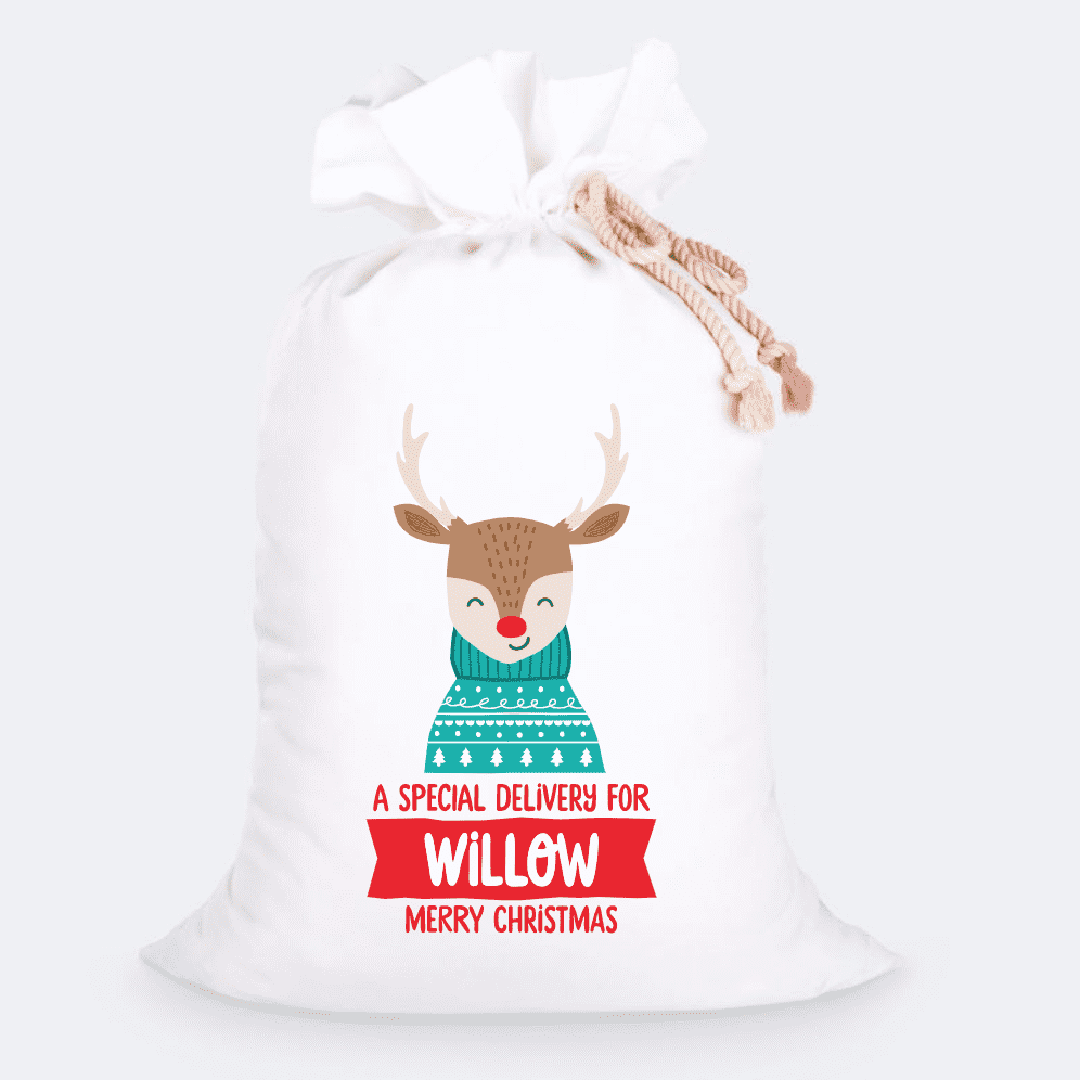 Custom Jumbo Santa Sacks With Name 12