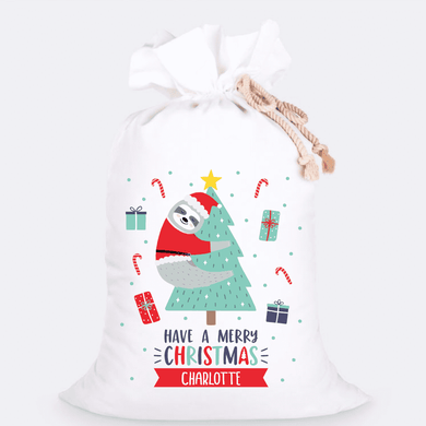 Custom Jumbo Santa Sacks With Name 15