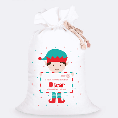 Custom Jumbo Santa Sacks With Name 16