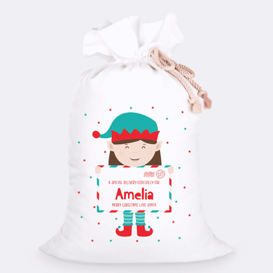 Custom Jumbo Santa Sacks With Name 17
