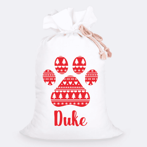 Custom Jumbo Santa Sacks With Name 18