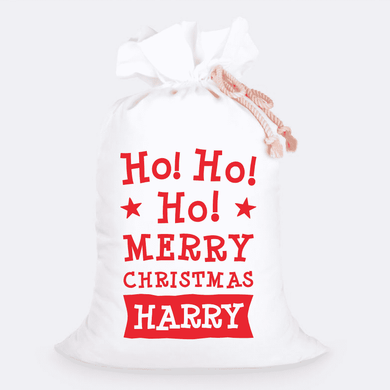 Custom Jumbo Santa Sacks With Name 21