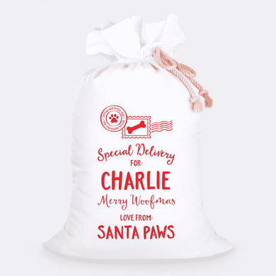 Custom Jumbo Santa Sacks With Name 23