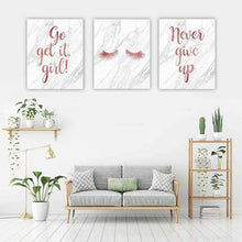 Load image into Gallery viewer, GO GET IT Canvas Art Set I 03 -3 Pieces