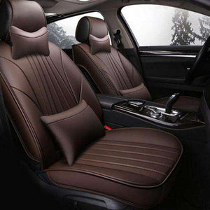 Custom Universal PU-Leather Car Seat Covers 02