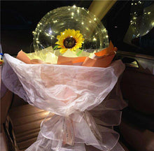 Load image into Gallery viewer, LED Luminous Balloon Rose Bouquet
