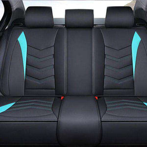 Universal Car Seat Cover Leather & Fabric 05