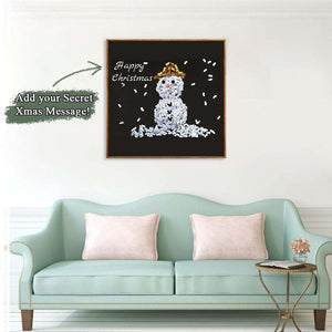 2020 Hot Christmas Secret Message Canvas 05