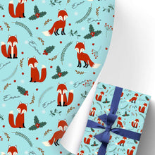 Load image into Gallery viewer, Gift Wrapping Paper 3 Rolls Fox I15