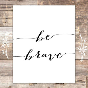 Be Kind Be Brave Be You Art Canvas 01-3 Pieces