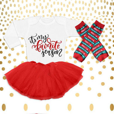 Christmas Baby Outfit 06-Favorite Season