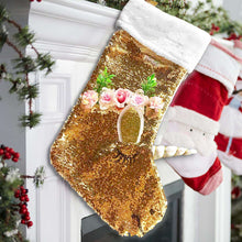 Load image into Gallery viewer, Katie Doodle Unicorn Christmas Stocking