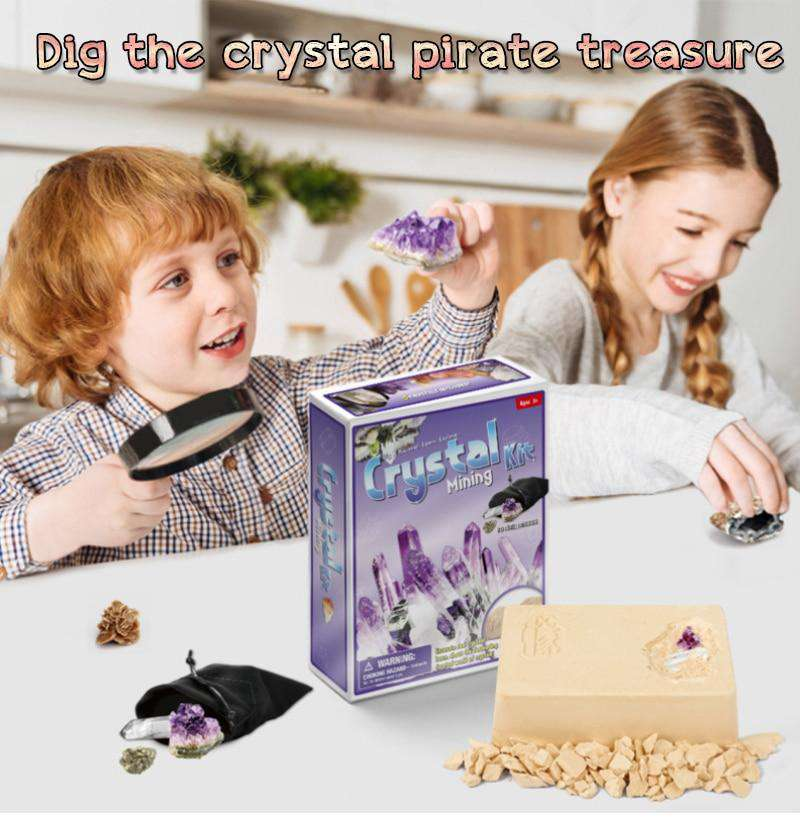 Digging up fossils toy DIY Crystal 01